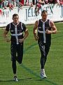2 & 15. Steven King & Michael Gardiner, St Kilda FC 01.jpg