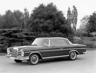 Mercedes-Benz W112 - Image: 300SECoupe
