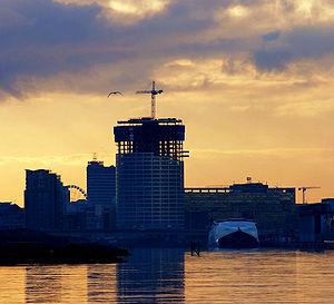Belfast skyline