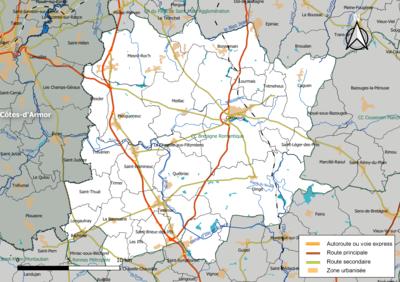 Carte Bretagne Romantique.Communaute De Communes Bretagne Romantique Wikipedia