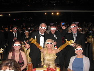Pittsburgh Film Office - Guests of the 2011 fundraiser at Stage AE enjoy the 3D presentation