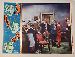<i>Three Live Ghosts</i> (1929 film) 1929 film by Thornton Freeland