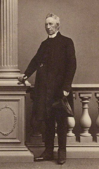 Robert Eden, 3rd Baron Auckland - Lord Auckland in the 1860s