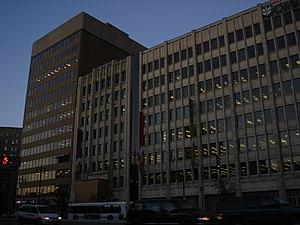 Canadian Wheat Board - Image: 433 Main Street and Canadian Wheat Board Building, Winnipeg