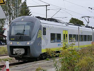 Alstom Coradia - Image: 440 406 Abensberg