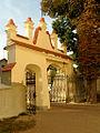 5. Janowiec, fragment ogrodzenia kościoła.JPG