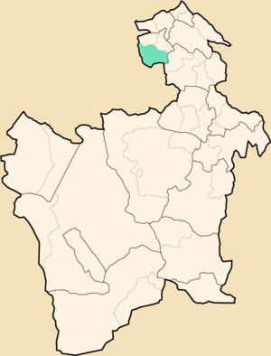 Uncía Municipality