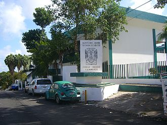 Universidad Juárez Autónoma de Tabasco - Faculty Office Building at the College of Social Sciences and Humanities which comprises the departments of History, Sociology, and Law