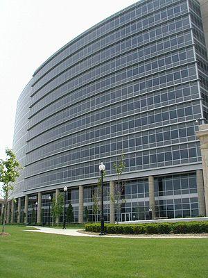 Jackson, Michigan - CMS Energy headquarters in downtown Jackson