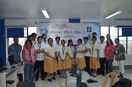 7th Waray Wikipedia Edit-a-thon 33.JPG