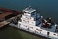 87j147 V. W. Meythaler downbound on Ohio River at Clark Bridge, Louisville, Kentucky (8013449780).jpg