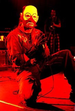 Mr. Bungle - Mike Patton in costume live in 1991