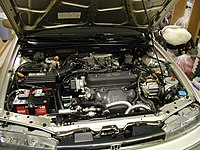 Pre Facelift Honda Accord Engine