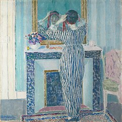 Blue Interior: Giverny (The Red Ribbon)