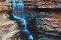 A224, Karijini National Park, Australia, Joffre Gorge Falls, 2007.JPG