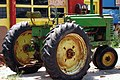 A292, Cawker City, Kansas, USA, green and yellow tractor, 2008.JPG