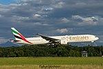 A6-ECN Boeing B777-36N-ER B77W - UAE (28053990373).jpg