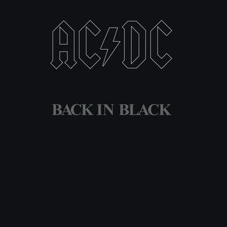 <i>Back in Black</i> 1980 studio album by AC/DC