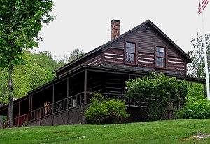 Adirondack Experience - Image: ADK Museum Log Hotel