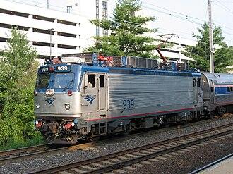 EMD AEM-7 - No. 939 was among the 29 units rebuilt as AEM-7ACs.