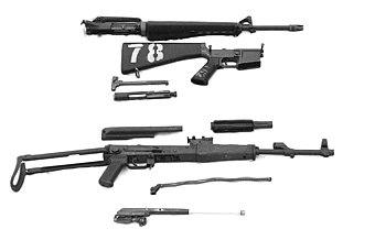 Comparison of the AK-47 and M16 | Military Wiki | FANDOM