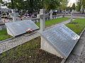 AK soldiers quarter at Wawrzyszew cemetery (Starża company) 03.JPG