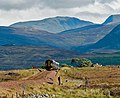 A Glasgow - Fort William train climbs onto Rannoch Moor - geograph.org.uk - 676941.jpg