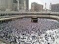A Last day of Hajj - all pilgrims leaving Mina, many already in Mecca for farewell circumambulation of Kaaba - Flickr - Al Jazeera English.jpg