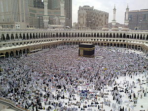 A Last day of Hajj - all pilgrims leaving Mina, many already in Mecca for farewell circumambulation of Kaaba - Flickr - Al Jazeera English.jpg