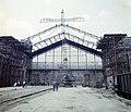 A Nyugati pályaudvar csarnokának rekonstrukciója. Fortepan 99442.jpg