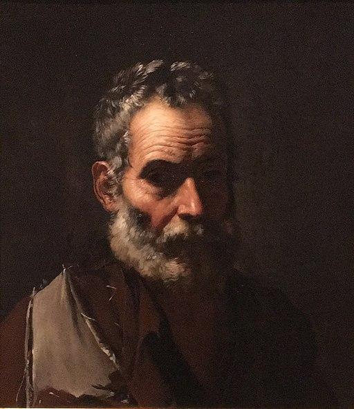 A Philosopher - José de Ribera - 1635