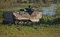 A U.S. Marine Corps amphibious assault vehicle with 3rd Platoon, Charlie Company, 2nd Assault Amphibian Battalion fires its .50-caliber automatic machine gun during gunnery training in Fort A.P. Hill, Va 130531-M-BW898-004.jpg