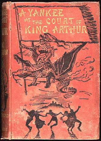 A Connecticut Yankee in King Arthur's Court - First English edition, 1889