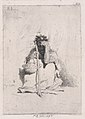 A beggar, seated on the ground holding a stick MET DP876114.jpg