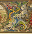 A dragon - The Illuminated Books of the middle ages (1844-1849) - BL.jpg
