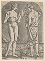 A naked man at left showing an axe to a woman at right MET DP854397.jpg