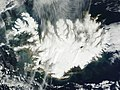 A nearly cloud-free image of Iceland. Original from NASA. Digitally enhanced by rawpixel.jpg