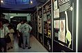 A to Z of Dinos Panels with Visitors - Dinosaurs Alive Exhibition - Science City - Calcutta 1995-June-July 104.JPG