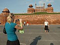 A view of Red Fort, Which was declared World Heritage by UNESCO.jpg