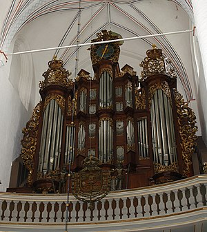 Frobenius Orgelbyggeri - The Frobenius-organ in Aarhus Cathedral