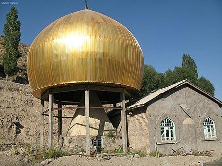 Ab-e Garm Tumb, Ab-e garm bala, Larijan, Damavand, Mazandaran province امامزاده آبگرم بالا، لاریجان، مازندران - panoramio.jpg