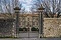 Abbaye de Cassan - western grille 01.jpg