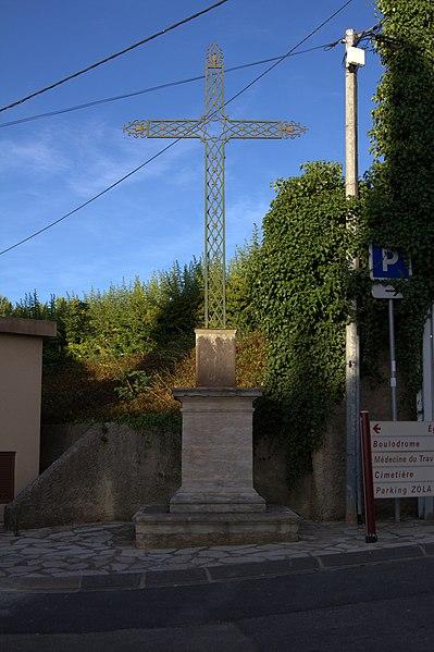 Croix de mission à Abeilhan.
