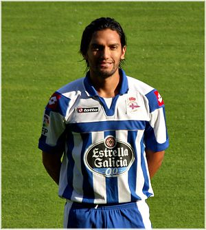 Abel Aguilar - Aguilar being presented by Deportivo