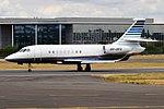 Abelag Aviation, OO-DFG, Dassault Falcon 2000EX (43377404885).jpg