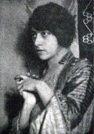 Erika Abels d'Albert - Image: Abels d Albert Erika NEU Wiener Illistrierte Zeitung 8 Feb 1920