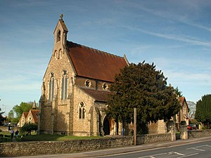 George Goldie (architect) - Our Lady and St Edmund church, Abingdon-on-Thames