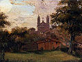Abraham Louis Buvelot - View of the Church of Santa Fede.jpg
