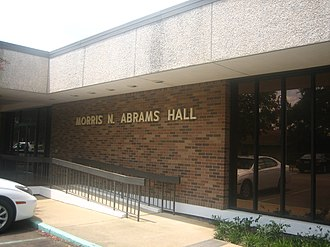Morris N. Abrams - Morris N. Abrams Hall at Louisiana State University at Alexandria is named for Morris Newton Abrams, a native of Winnfield, who was the dean of LSU-A from 1962 until his death in 1975.