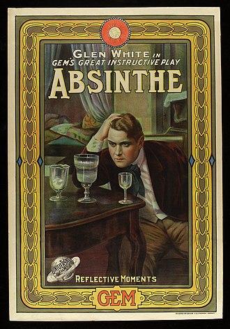 Absinthe (1914 film) - Film poster